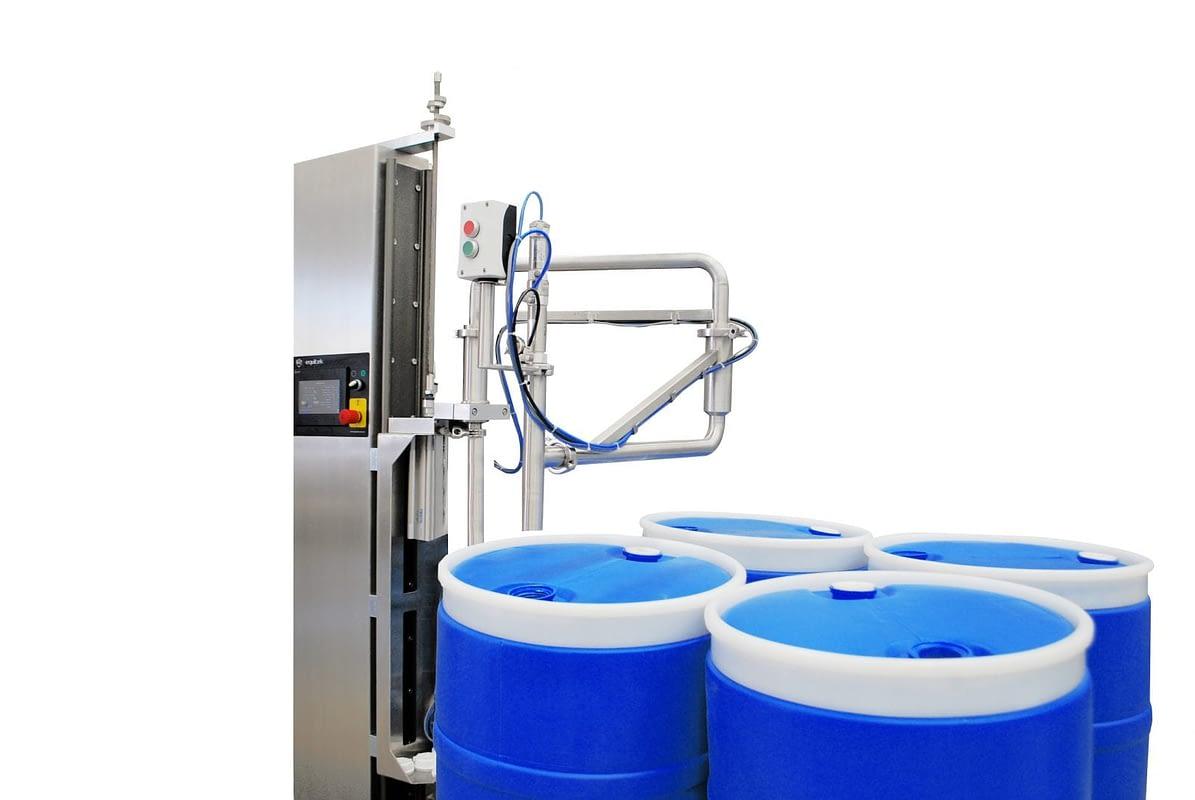 DPP-06 - Maquinas para Envasar tambores - Equitek