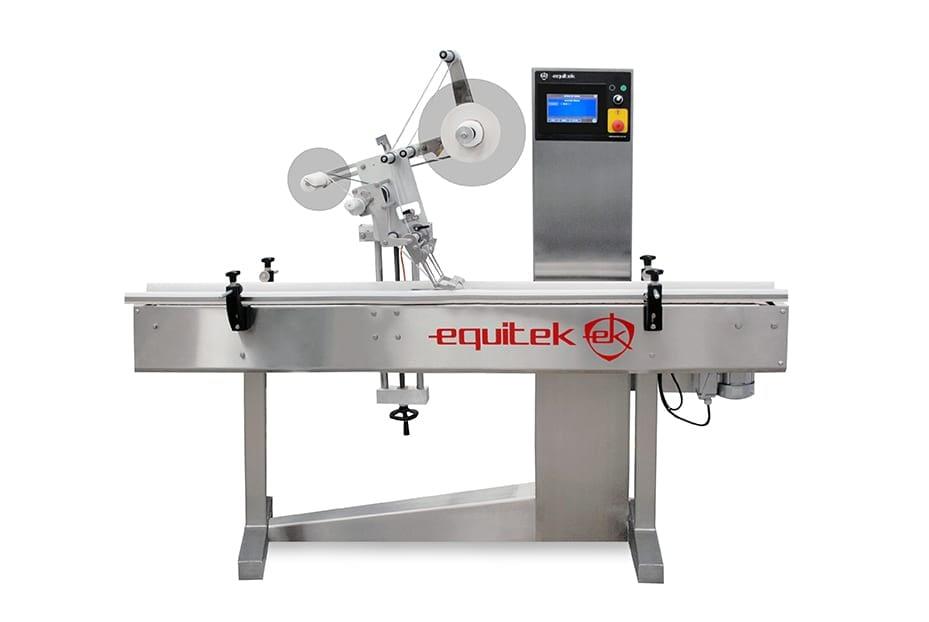 ESZ1 - Equipo para Etiquetado de Envases Cilíndricos -Equitek