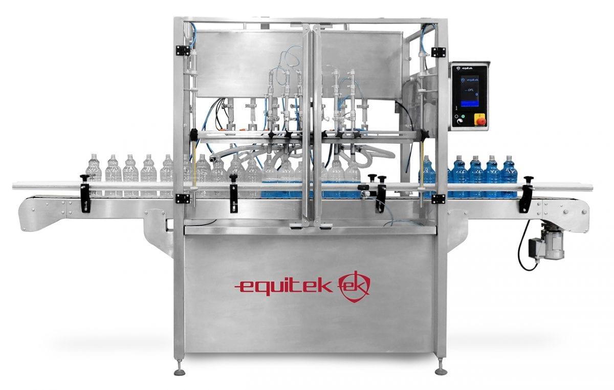 DFL- llenadora de 4, 6, 8 10 y 12 boquillas - Equitek