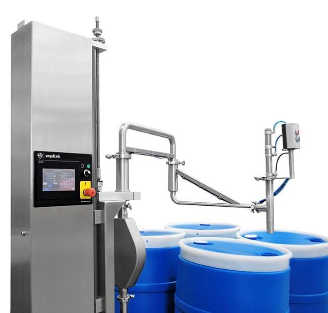 DPF-07 maquina llenadora de liquidos - Equitek