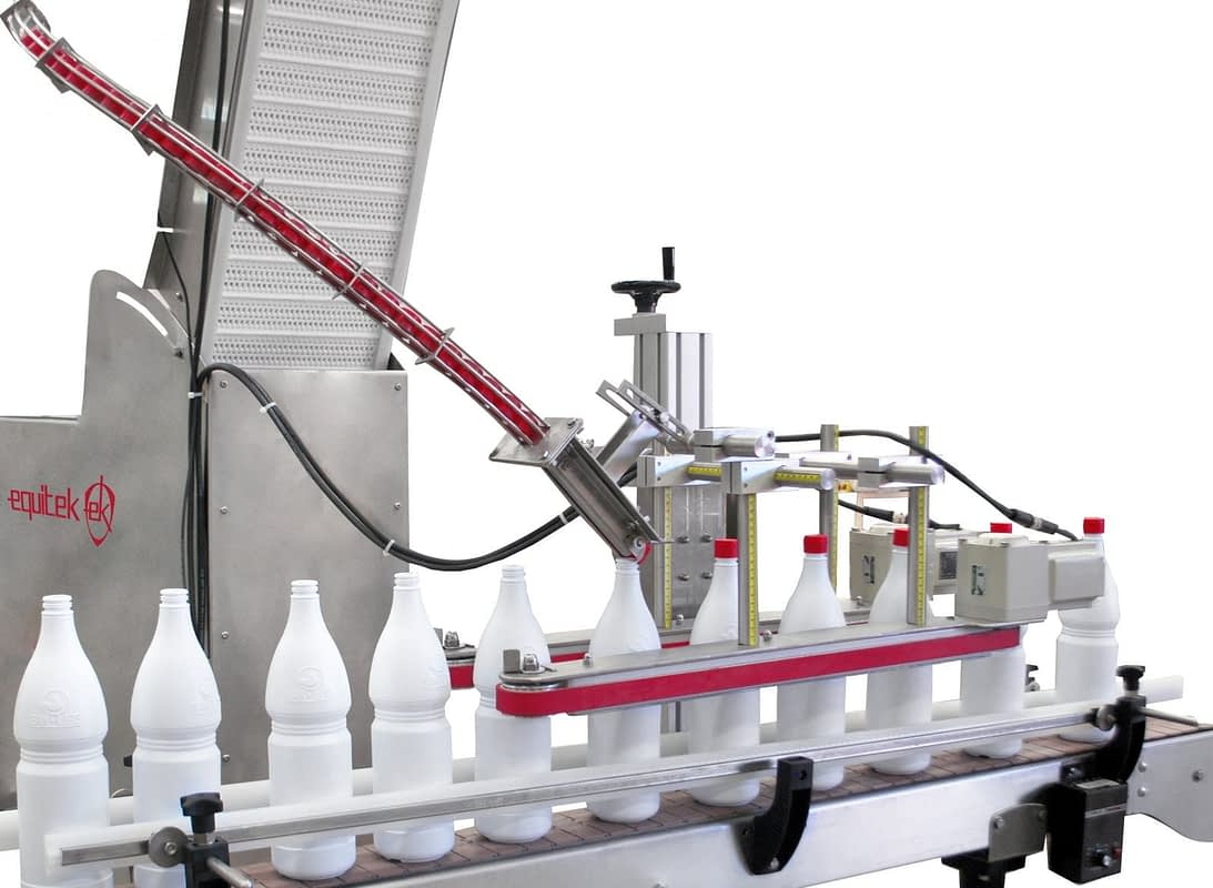 OTB-6 Enroscador semiautomático de Tapas - Equitek
