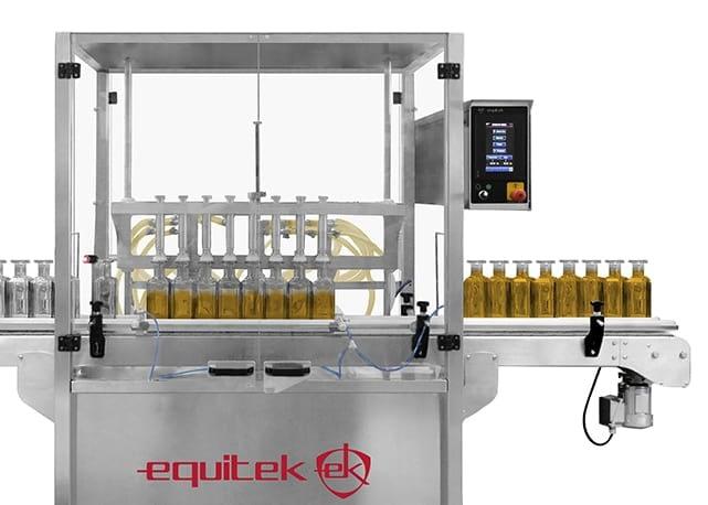 DNL-1-ch llenadora de líquidos y espumosos - Equitek