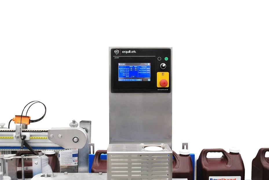 ESZ-2-(8) Equipo de Etiquetado para Envases Ovalados