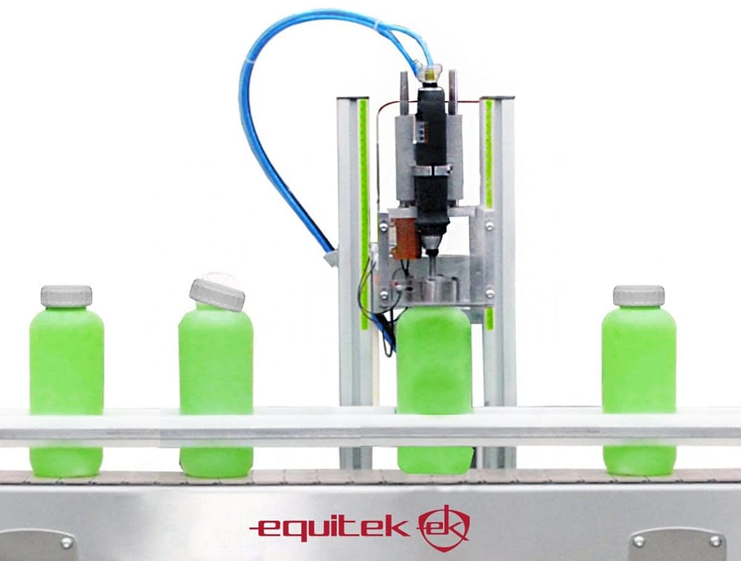 ERZ-(5) Enroscador semiautomático de Tapas - Equitek