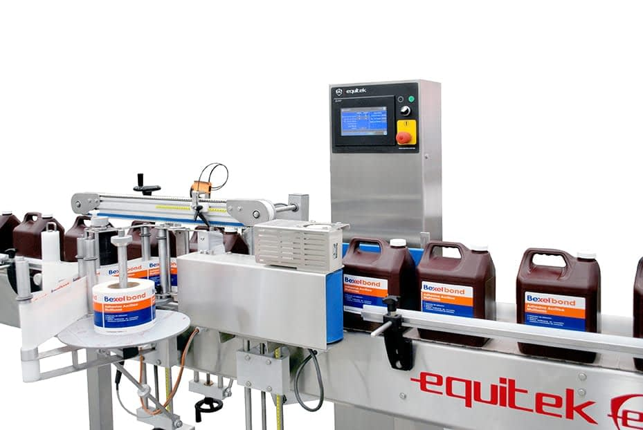 ESZ-2-(7) Equipo de Etiquetado para Envases
